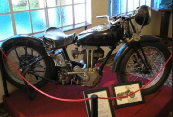 че гевара и его мотоцикл