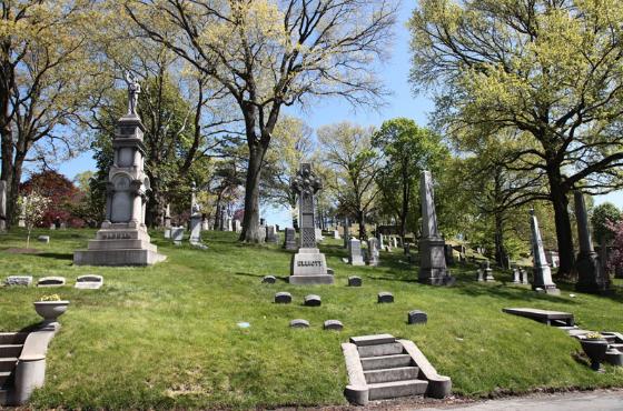 Кладбище Гринвуд в Нью-Йорке
