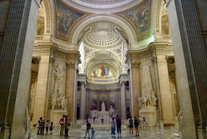 Кладбища в Париже Пантеон