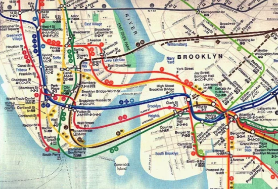 История нью-йоркского метро