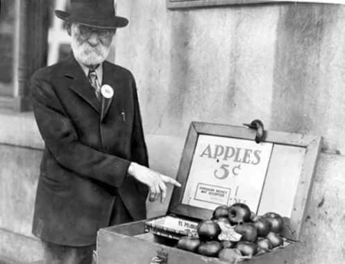 Яблоки и великая депрессия в США