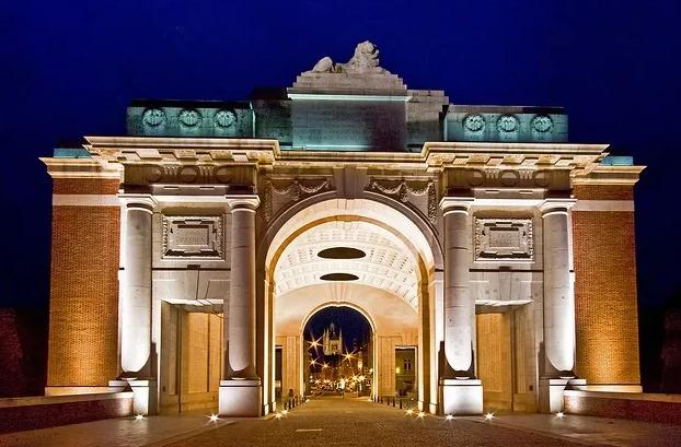 Мененские ворота Ипр