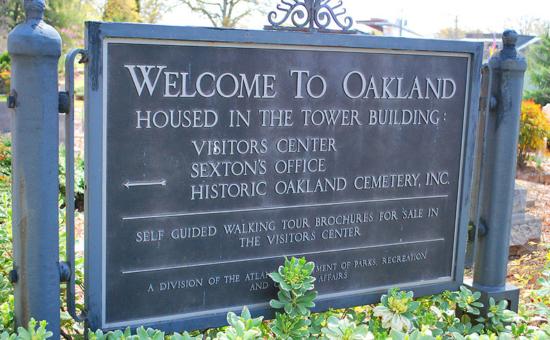 Окленд кладбище Атланта