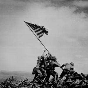 Битва за Иводжиму и установка флага 4